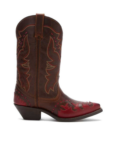 Laredo Red Tan Boots