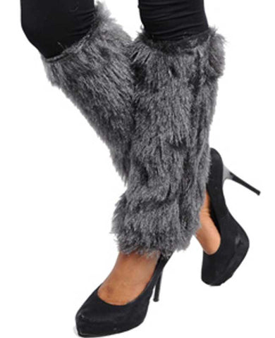 Fashion Faux Fur Leg Warmers