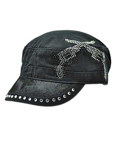 Black Hide Cap