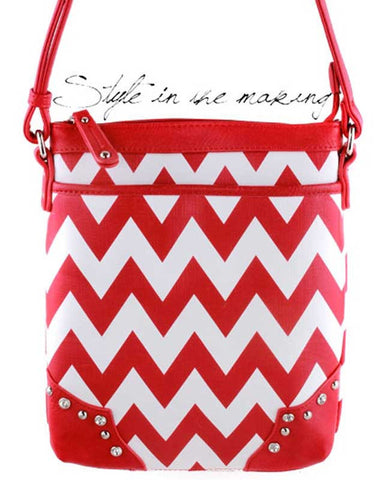 Chevron Handbag