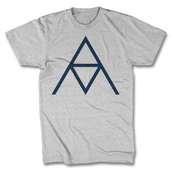 AM Logo T-shirt - Men's (Heather Silver)