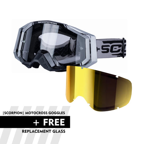 SPECIAL OFFER |SCORPION| Motocross Goggles