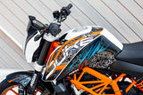 RokON sticker kit KTM Duke 125 / 200 / 250 / 390 MY 2011-16 #01142