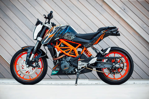 RokON sticker kit 2018 design! KTM Duke 125 / 200 / 250 / 390