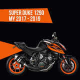 Tail tidy for KTM Super Duke R 1290 My 2017 - 2019