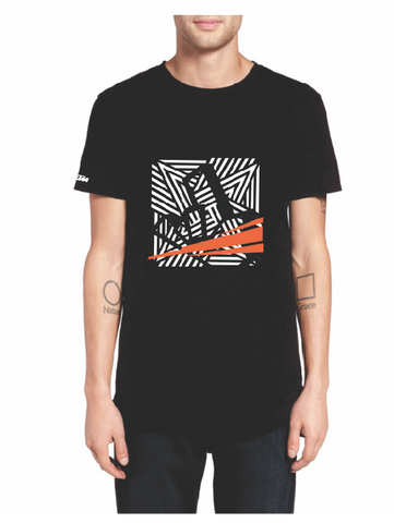 Black t-shirt, t-shirt, Illusion, RokOn KTM