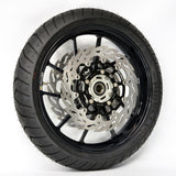 | 112219 | Flame Floating Alu Disc 300, Front - KTM RC 125/200/390