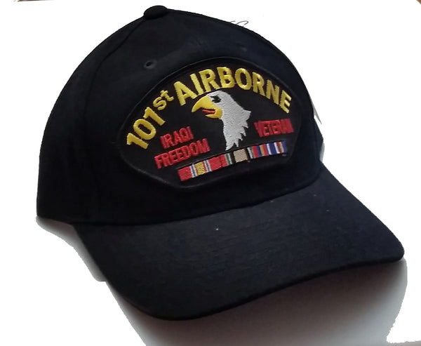 101st Airborne Iraqi Freedom Veteran Low Profile Ball Cap Never Worn