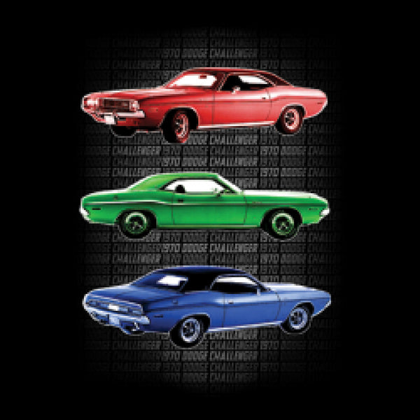 1970 Dodge Challenger Cars Adult Unisex Quality Short or Long Sleeve T Shirt 21537D2
