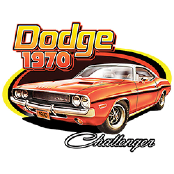 Dodge 1970 Challenger Car Adult Unisex Quality Short or Long Sleeve T Shirt 22582HD1
