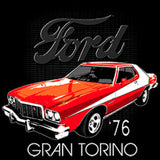 Ford 76 Grand Torino Car Adult Unisex Quality Short or Long Sleeve T Shirt 22498D1