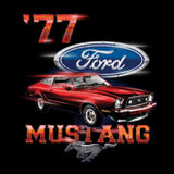 1977 Ford Mustang Car Adult Unisex Quality Short or Long Sleeve T Shirt 21532D1