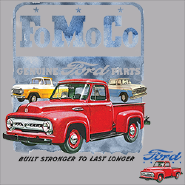 Ford Motor Company Pickups Mens Quality Short Sleeve Car Pickups T Shirt 22004HL2