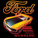 Ford Boss 302 Mustang Yellow Car Adult Unisex Quality Short or Long Sleeve T Shirt 22546HD1