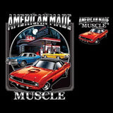 Chrysler American Made Muscle Car  Licensed  Mens Short or Long Sleeve T Shirt 20418HD2