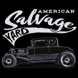 American Salvage Yard Hot Rod Mens Short or Long Sleeve Car T Shirt 19952