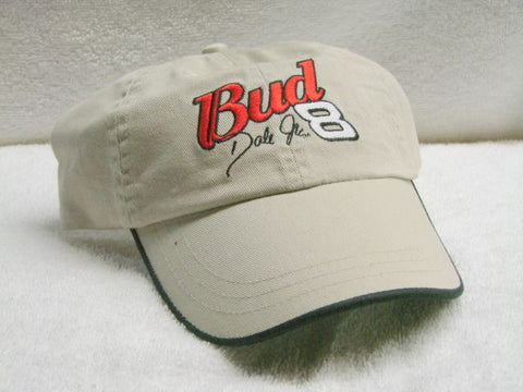 Vintage Bud Dale Jr 8 NASCAR Low Profile Ball Cap Never Worn