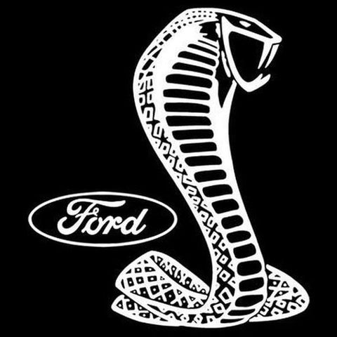 Ford White Shelby Cobra Car Graphic T Shirt Adult Unisex T Shirt 10836E2