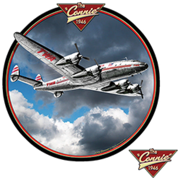 Constellation Airplane The Connie 1946 Mens Short or Long Sleeve T Shirt 22757HD3