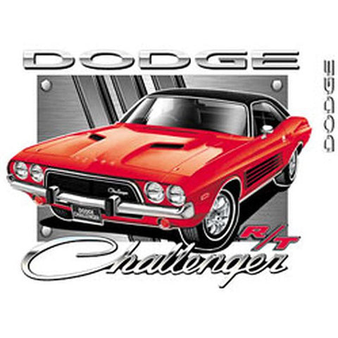 Dodge Challenger Car Licensed Mens Short Sleeve T Shirt 20420HL2