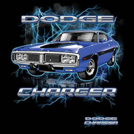 Dodge Charger Licensed Car Mens Short or Long Sleeve T Shirt 20337HD1