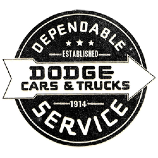 Dodge Dependable Sign Adult Unisex Quality Short Sleeve T Shirt 22722ED2