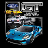 Ford GT American Horse Power Cars Adult Unisex Quality Short or Long Sleeve T Shirt 22496HD1