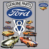 Ford V 8 Genuine Parts Adult Unisex Quality Short or Long Sleeve T Shirt 22000HD2