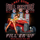 Full Service Girl and Car Mens Short or Long Sleeve T Shirt 17084