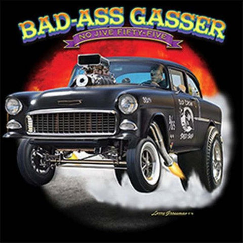 Bad A.. Gasser Mens Short or Long Sleeve Car T Shirt 21292D3