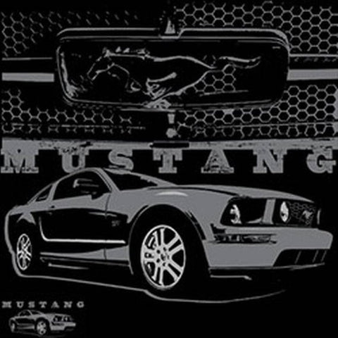 Ford Mustang With Grill Mens Short or Long Sleeve T Shirt 21284EV1