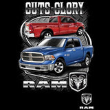 Guts and Glory Dodge Ram Truck Licensed Mens Short or Long Sleeve T Shirt 20421HD1
