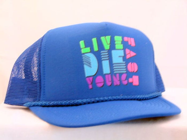 Live Fast Die Young Trucker Cap 16713