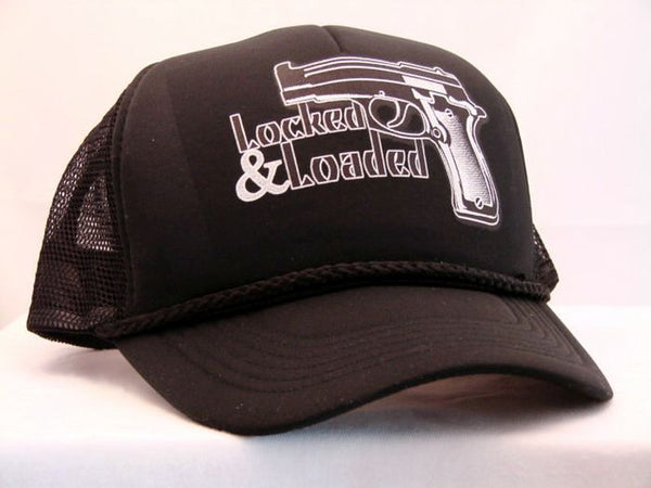 Locked and Loaded Trucker Cap 16851