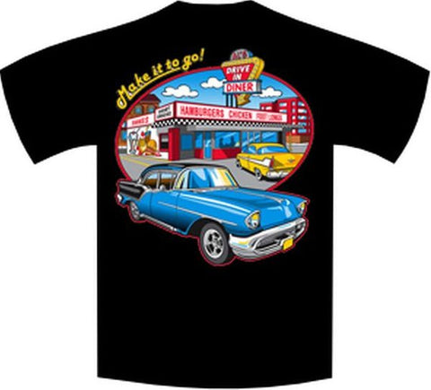 Make It To Go Car Drive In Short or Long Sleeve T Shirt 3851-2