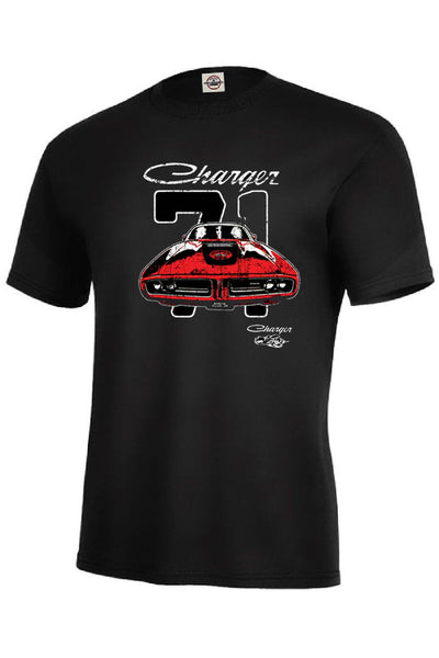 1971 Dodge Charger Mens Short or Long Sleeve Car T Shirt 21141D1