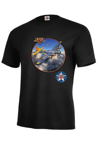 B 17G Flying Fortress WW II Airplane Mens Short or Long Sleeve T Shirt 22753HD3