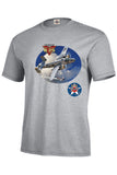 North American B 25 Mitchel WW II Airplane Mens Short or Long Sleeve T Shirt 22754HD3