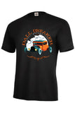 Ball Breaker Garage Established 1943 Hot Rod Mens Short or Long Sleeve T Shirt 17063