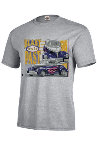 1940 Willys 2DR Coupe Car Mens Quality Short Sleeve T Shirt 1964