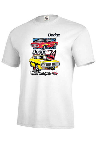 Dodge 74 Charger Licensed Mens Short Sleeve Car T Shirt 20419HL2