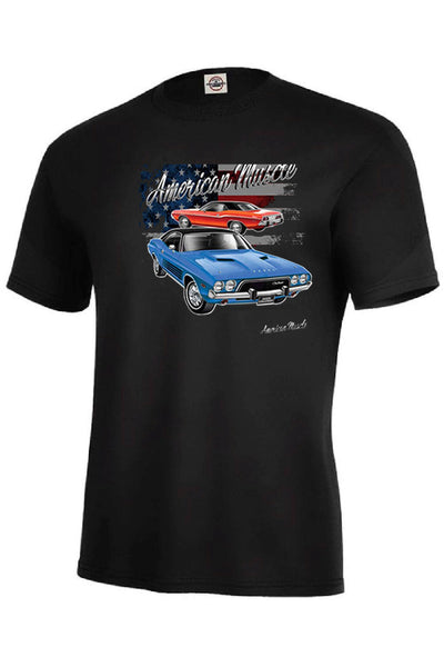 Dodge American Muscle Car Mens Short or Long Sleeve T Shirt 21140D1