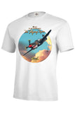 The Flying Tiger World War II Airplane Mens Short or Long Sleeve T Shirt 21289HD3