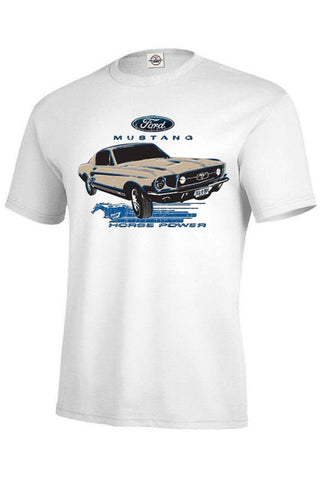 Ford Aged Design 1964 Mustang Car Mens SHORT SLEEVE T Shirt