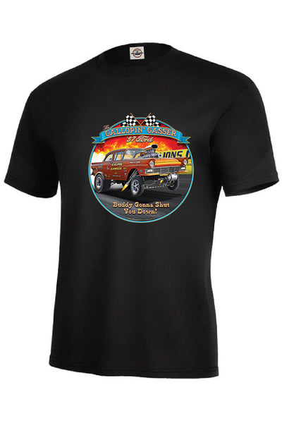 Gallopin Gasser 57 Ford Adult Unisex Quality Short or Long Sleeve T Shirt 22759HD3