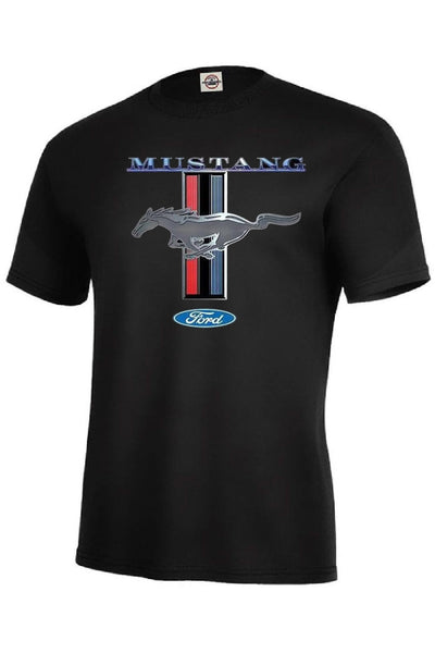 Ford Mustang Symbol Mens Short or Long Sleeve Car T Shirt 13732D1