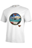 Pan Am Clipper Airplane Flying Clipper Ships Mens Short or Long Sleeve T Shirt 22764HD3
