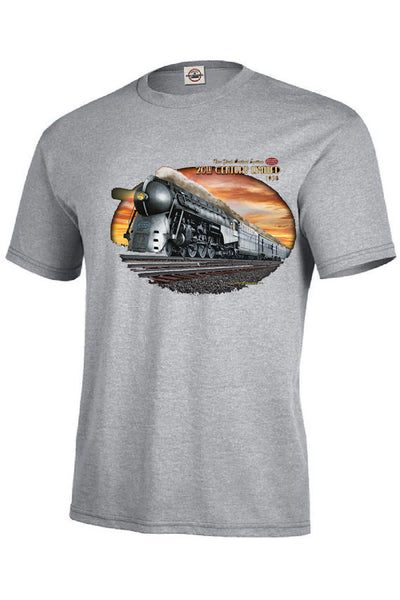 1930s Passenger Train 20th Century Limited Mens Short or Long Sleeve T Shirt 21343D3