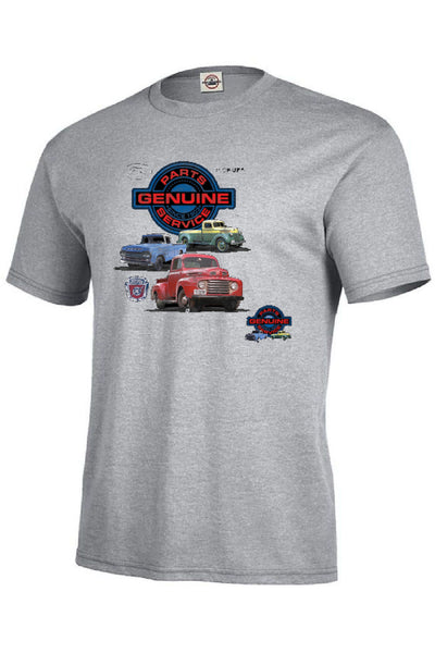 Ford Genuine Parts and Service Mens Quality Short Sleeve Car Pickups T Shirt 22002HL2