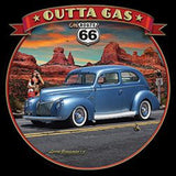 1940 Ford Car Outta Gas Adult Unisex Quality Short or Long Sleeve T Shirt 22763HD3